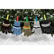 Перчатки детские MARGOT BIS-BOY (одинарная вязка) - Фото