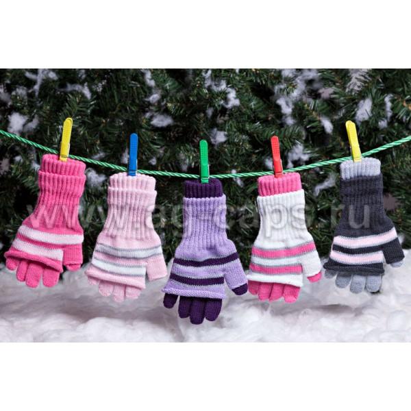 Перчатки детские MARGOT BIS-KIKI (двойные)