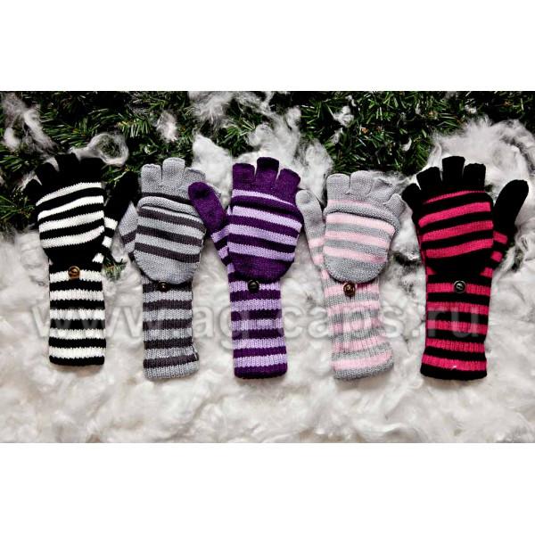 Перчатки детские MARGOT BIS-FLOP (одинарная вязка) - Фото