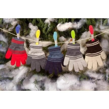 Перчатки детские MARGOT BIS-ZIG-ZAG (одинарные)