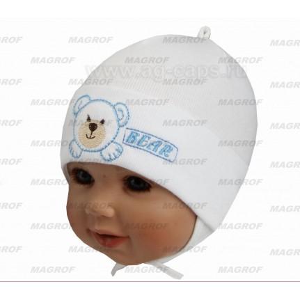 Шапка детская MAGROF BIS KOD-108M (одинарный трикотаж)