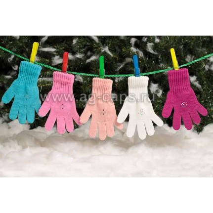 Перчатки детские MARGOT BIS-MOLY (одинарные) - Фото