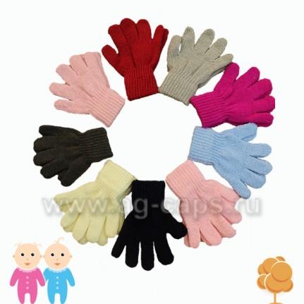 Перчатки детские RAK J15 R-044 (одинарные)
