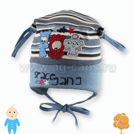 Шапка детская FIDO W16 617 (одинарный трикотаж)