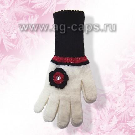 Перчатки детские MARGOT BIS-NAVI (одинарная вязка)