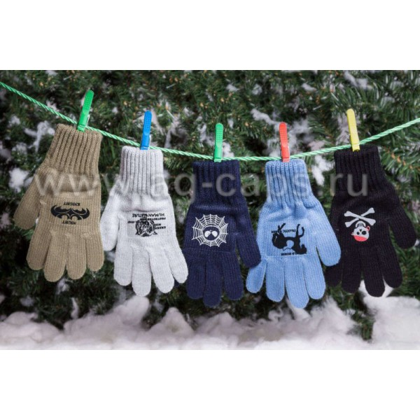 Перчатки детские MARGOT BIS-KAFAR (одинарные)