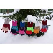 Перчатки детские MARGOT BIS-EMAGINE (двойные) - Фото
