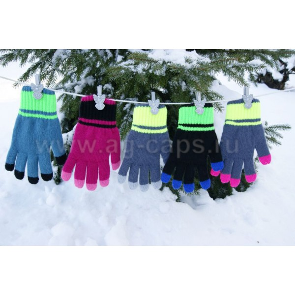 Перчатки детские MARGOT BIS-OLA (двойные)