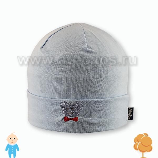 Шапка детская MAJKA W17 B-45 (одинарный трикотаж)