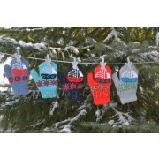 Варежки детские MARGOT BIS-W17 STATEK (двойная вязка) - Фото