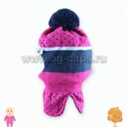 Шапка-шлем детская AJS J17 34-327 (на подкладке) - Фото