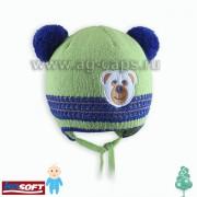 Шапка детская AGBO Z17 1116 TEDDY 1 (ISOSOFT) - Фото