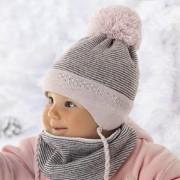 Комплект детский AJS 418 36-304 (хлопковый флис Футтер)+(манишка на Футтере) - Фото