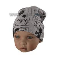 Шапка детская MAGROF BIS 219 K-4125 (одинарный трикотаж)