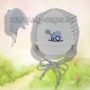 Шапка детская Elo-Melo №69 (двойной трикотаж) - Фото