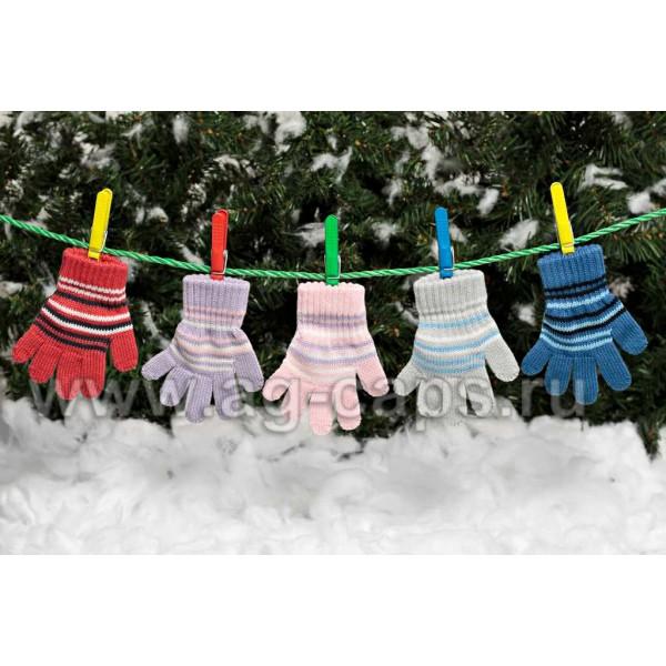 Перчатки детские MARGOT BIS-NINA (одинарная вязка) - Фото