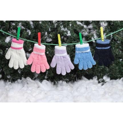 Перчатки детские MARGOT BIS 419 PUCHATKI (одинарные) - Фото
