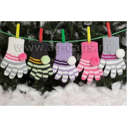 Перчатки детские MARGOT BIS-FRETKA (одинарная вязка) - Фото