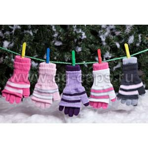 Перчатки детские MARGOT BIS-KIKI (двойные) - Фото