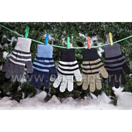 Перчатки детские MARGOT BIS-KAPITAN (одинарная вязка) - Фото