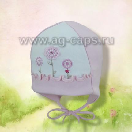 Шапка детская Elo-Melo №82 (двойной трикотаж) - Фото