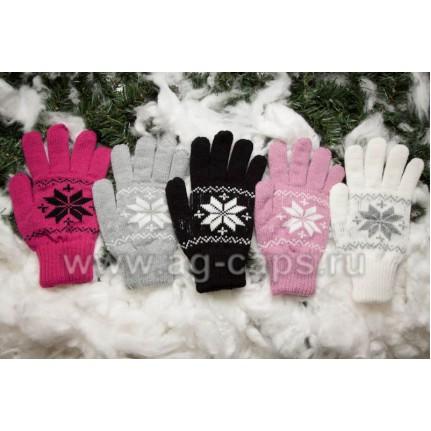 Перчатки детские MARGOT BIS-DAKOTA (двойные) - Фото