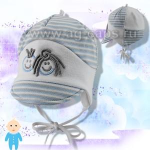 Шапка детская KROCHETTA mod-398 (одинарный трикотаж) - Фото