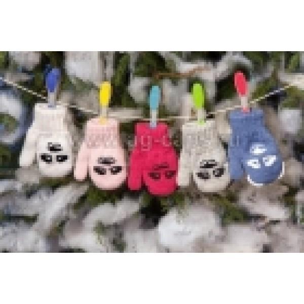 Варежки детские MARGOT BIS-KACPER (двойные) - Фото