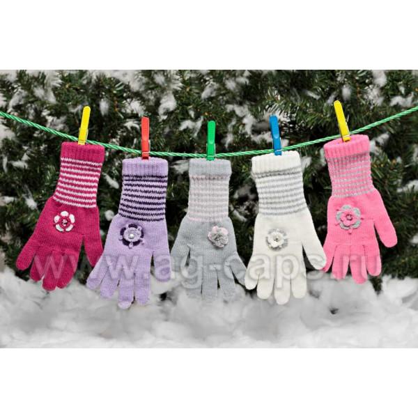 Перчатки детские MARGOT BIS 418 OLIMPIA (одинарные) - Фото