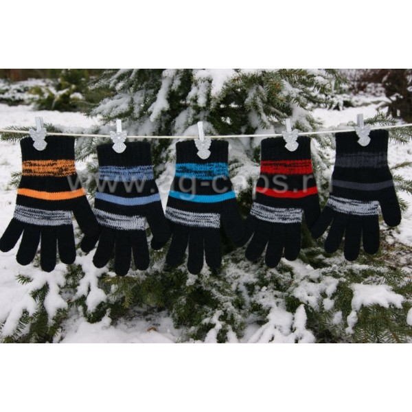 Перчатки детские MARGOT BIS-FRANZ (одинарная вязка) - Фото