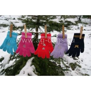 Перчатки детские MARGOT BIS-TINSEL (одинарные)