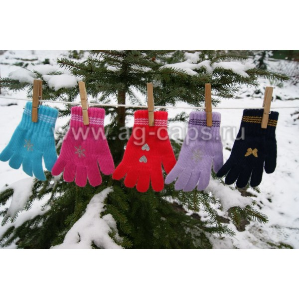 Перчатки детские MARGOT BIS-TINSEL (одинарные) - Фото