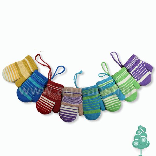 Варежки детские MICHELLE J15-021B (двойные) - Фото