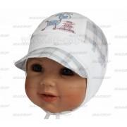 Шапка детская MAGROF BIS W16 K-2044 (трикотаж с вставками ситца) - Фото