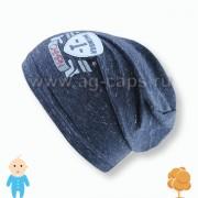 Шапка детская FIDO W16 660 (одинарный трикотаж)