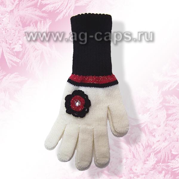 Перчатки детские MARGOT BIS-NAVI (одинарная вязка) - Фото
