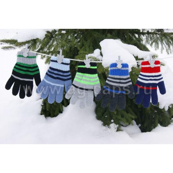 Перчатки детские MARGOT BIS-PI (двойная вязка) - Фото