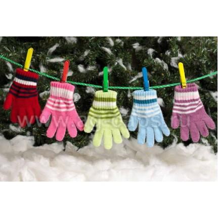 Перчатки детские MARGOT BIS 420 9003 (одинарные) - Фото