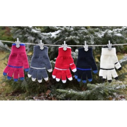 Перчатки детские MARGOT BIS 419 NEL (одинарные) - Фото