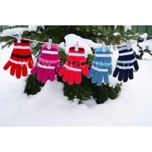 Перчатки детские MARGOT BIS-SIGMA (двойные) - Фото