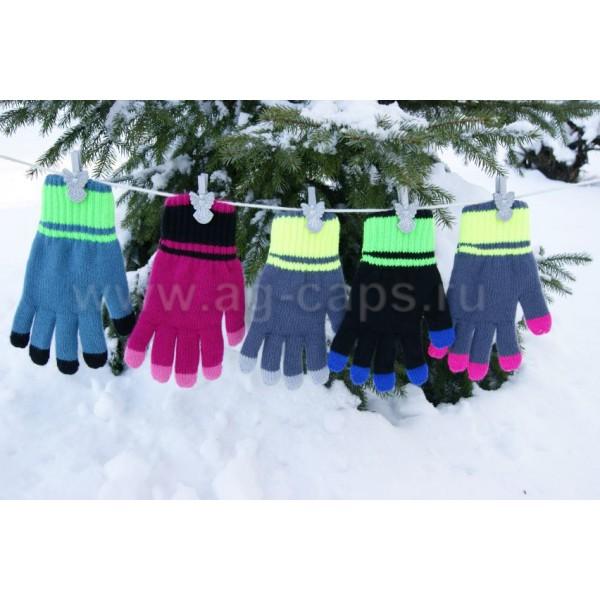 Перчатки детские MARGOT BIS-OLA (двойные) - Фото