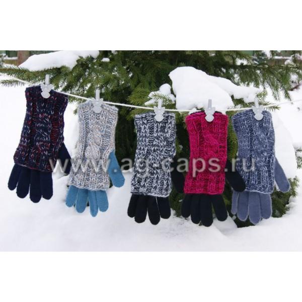 Перчатки детские MARGOT BIS-ERIS (двойные) - Фото