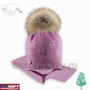 Комплект детский AGBO Z16 875SP PAMELA (ISOSOFT+ натуральный помпон)