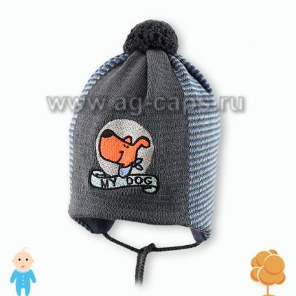 Шапка детская AGBO W17 1212 BRATEK (на подкладке) - Фото
