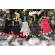 Перчатки детские MARGOT BIS-W17 DARKNESS (одинарные)