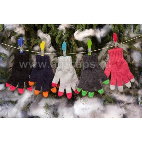 Перчатки детские MARGOT BIS-W17 DARKNESS (одинарные) - Фото