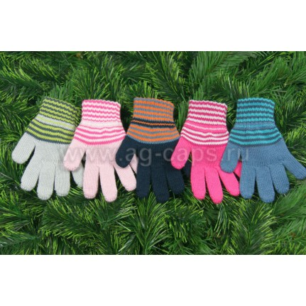 Перчатки детские MARGOT BIS-W17 MELISA (одинарные) - Фото
