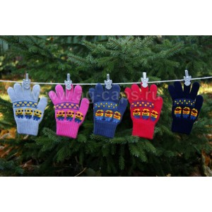 Перчатки детские MARGOT BIS-W17 MILIONKI (одинарные) - Фото