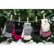 Перчатки-варежки детские MARGOT BIS-W17 MONTER (одинарные) - Фото
