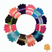 Перчатки детские MICHELLE J17 G-022A s11 (одинарные) - Фото
